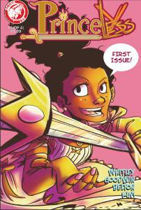 Princeless #1 by Jeremy Whitley, Action Lab