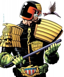 Judge Dredd Poster, Bolland.