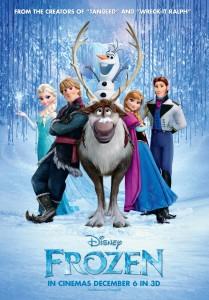 Disney's Frozen Poster, 2013