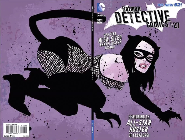 Detective Comics #27: A celebration of nipples and claws and laziness