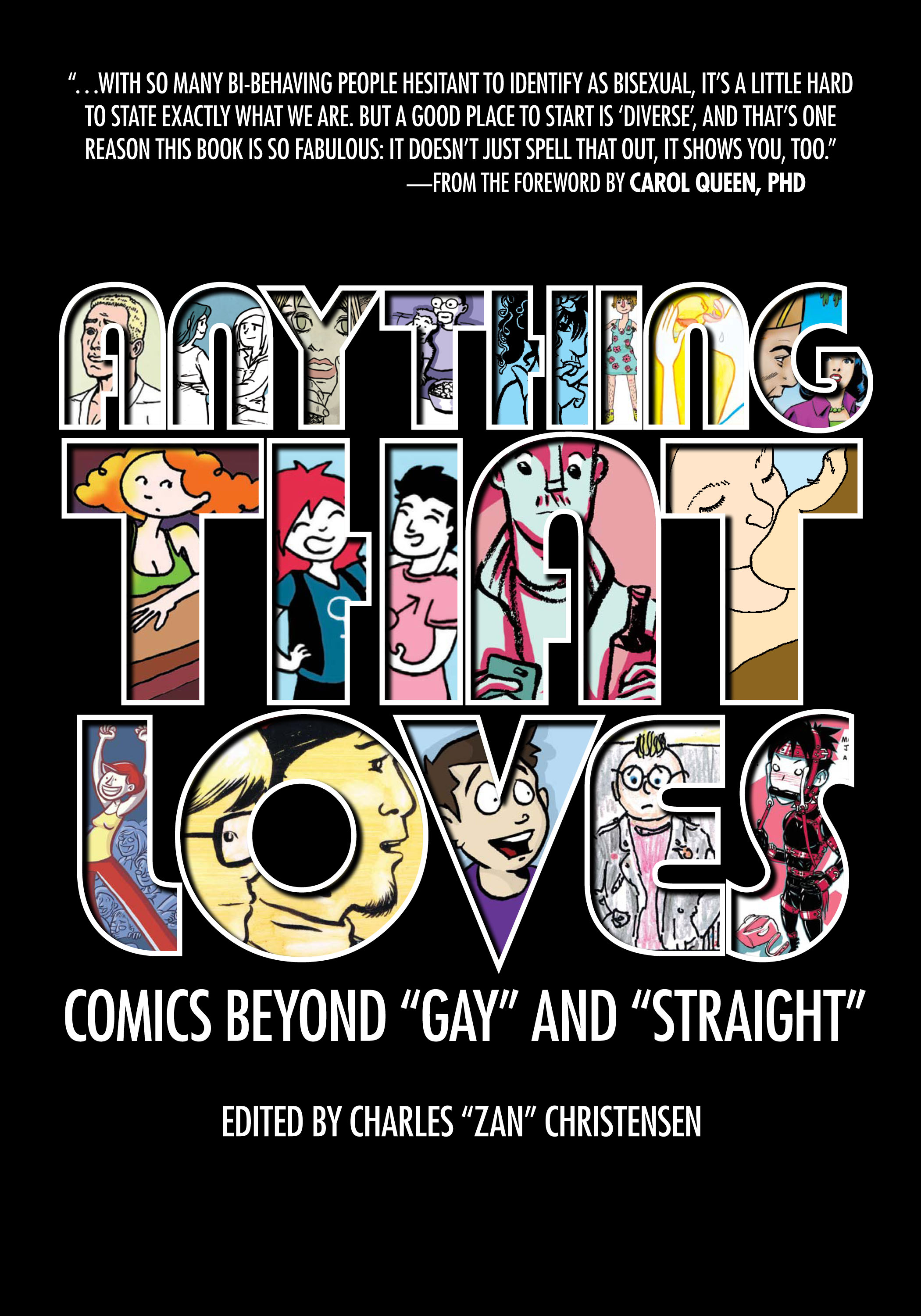 "Queering Comics: ""Anything That Loves Anthology"" Review"