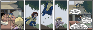 Webcomic Capsules — school, college and roommates