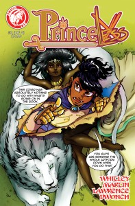 Princeless #2 by Jeremy Whitley, Action Lab
