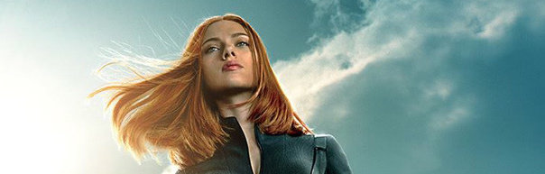 New Captain America Posters Drop: Black Widow very very thin