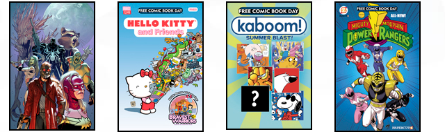 Friday Poll! Yays & Nays of Free Comic Book Day 2014