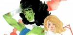 She-Hulk & Sue Storm by Kevin Wada