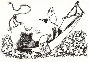 Muskrat, Moomins, Tove Jansson