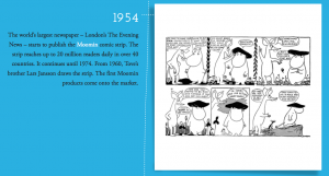 Tove Jannson's Moomin strip, Moomin.com
