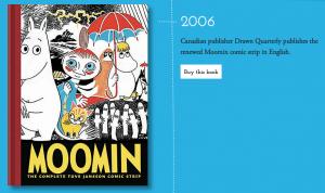Tove Jannson's Moomin collection, Drawn & Quarterly, Moomin.com