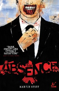 The Absence, Titan Comics, 2014,Martin Stiff