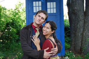 Firefly Tardis nerd wedding