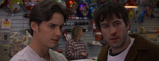 Kevin Smith's Mallrats, 1995. jeremy London & Jason Lee