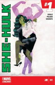 She Hulk #1. Charles Soule, Javier Pulido, Muntsa Vicente, Marvel Comics.
