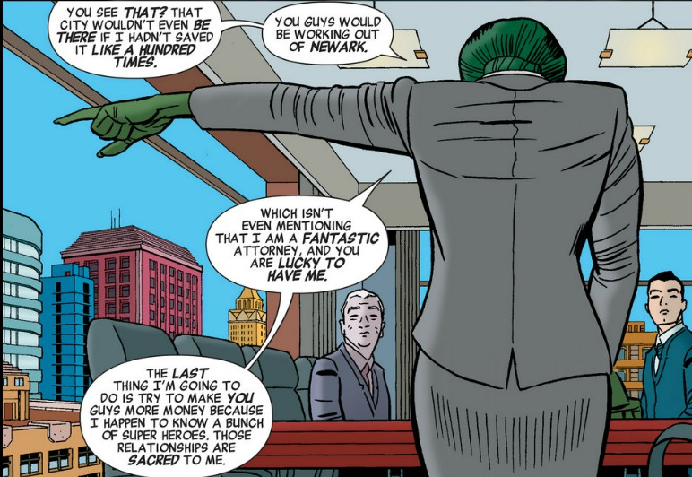 Any Way We Look At It, We're Right: She-Hulk #1