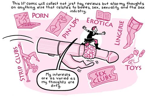 Erica Moen's Oh Joy Sex Toy