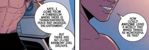 Marvel Boy, Jamie McKelvie art & Kieron Gillen dialogue