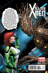 All-New X-Men #23. Brian Michael Bendis, Stuart Immonen, Wade Von Grawbadger, Marte Gracia, Marvel Comics.