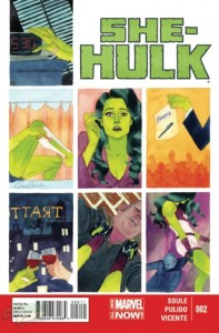 She-Hulk #2, Marvel Comics 2014