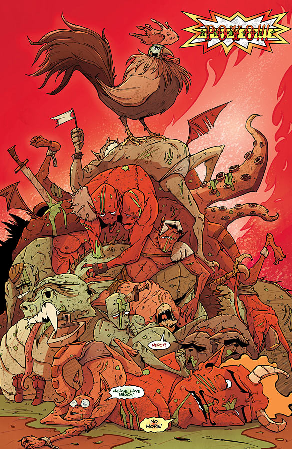 Interview with John Layman of Chew