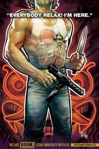 Big Trouble In LIttle China comic, BOOM!.