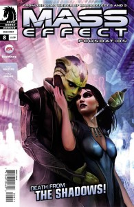 Mass Effect: Foundation #8 Mac Walters and Tony Parker Dark Horse Comics