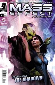 Mass Effect: Foundation #8 Mac Walters and Tony Parker Dark Horse Comics