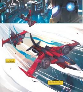 Windblade Transformation, female Transformer