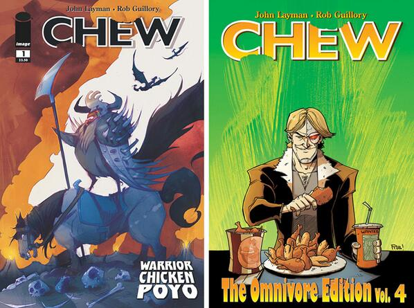 Layman & Guillory's CHEW to Get Animated Feature