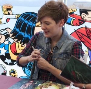 Noelle Stevenson, Challengers Comics 2014