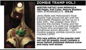 Zombie Tramp FCBD preview, Dan Mendoza, Action Lab - Danger Comics