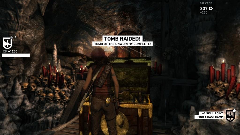 TR tomb raiding