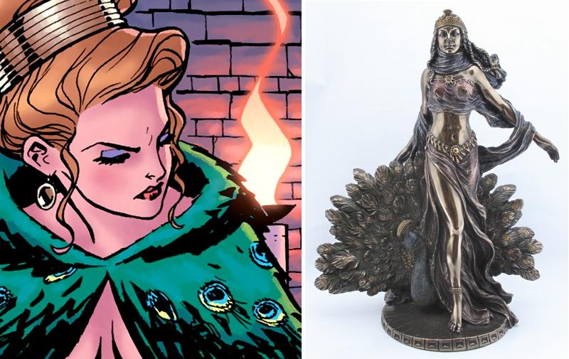 Hera in Wonder Woman and classical representation