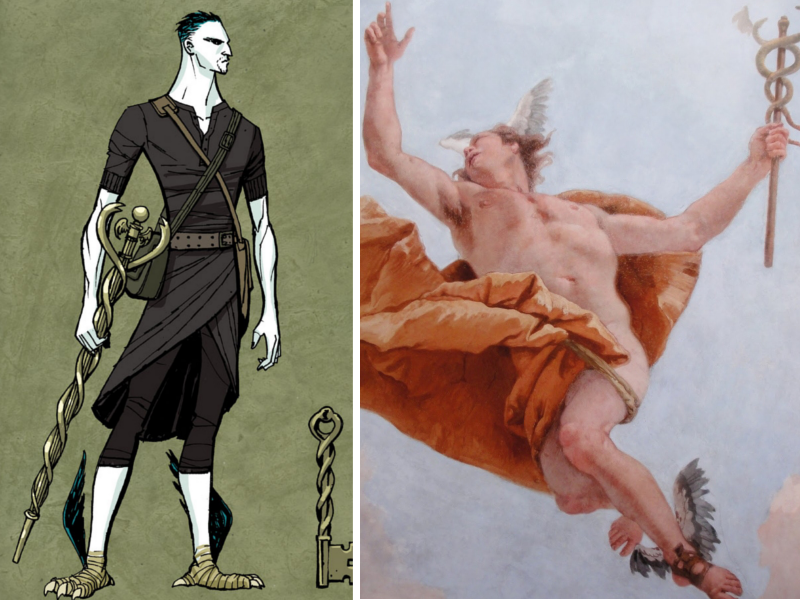 an analysis of hermes in english and greek mythology Hermes is an olympian god in greek religion and mythology, the son of zeus and the pleiad maia, and the second youngest of the olympian gods hermes is consi.