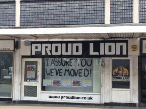 Proud Lion Moved, Cheltenham, 2014
