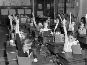 Old Timey Classroom