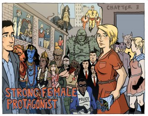 Webcomics Capsules: Superheroes and Feminists