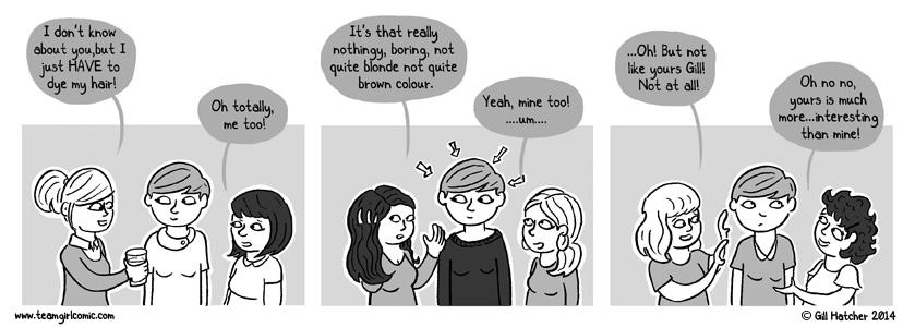 Team Girl Comic!