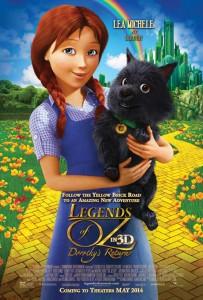 Poster: Legends of Oz: Dorothy's Return. Summertime, May 2014