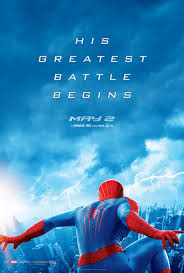 Poster: Amazing Spider-Man 2. Marvel, May 2014