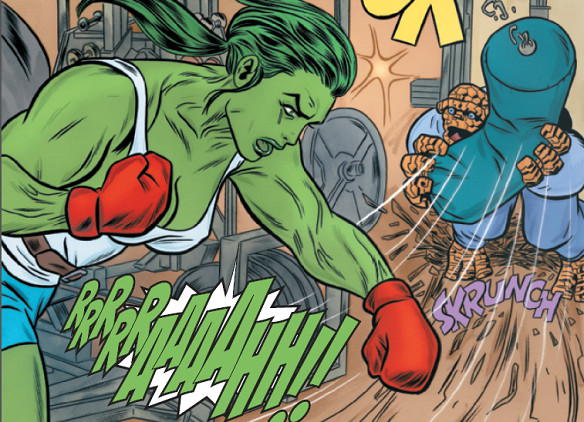 React Not With Rage, But Grace: She-Hulk Is Cancelled