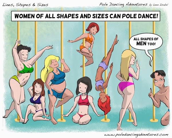 Leen Isabel, Pole Dancing Adventures webcomic, 2013