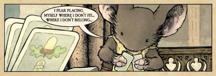 panel from Mouse Guard