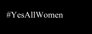 Feature image, black bar, yes all women