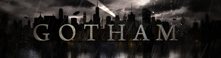 Gotham TV Show Logo. FOX Batman, DC Comics. 2014.