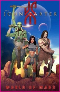 Cover of recent John Carter comic from Marvel