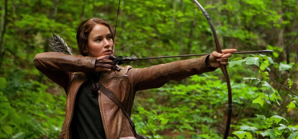 Katniss Everdeen, The Hunger Games, Jennifer Lawrence,