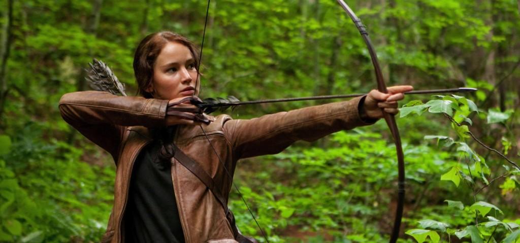 Katniss Everdeen, The Hunger Games, Jennifer Lawrence,