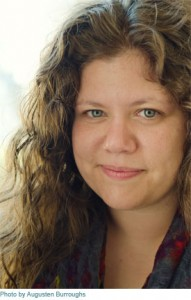 Rainbow Rowell. Author. (Image taken by Augusten Burroughs).
