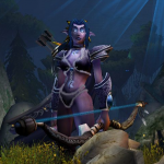 Night Elven Archer seen at the Warcraft III: Reign of Chaos Campaign, Warcraft wikia