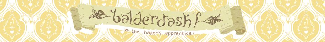 Webcomics: balderdash!, Magic, Baking, Elk, and Friendship